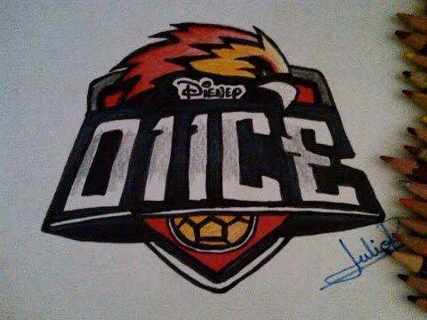 Dibujando El Logo De O11ce De Disney Xd Youtube