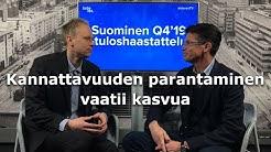 Suominen Q4'19: Kannattavuuden parantaminen vaatii kasvua