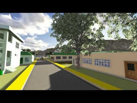 3D School Visualization Map