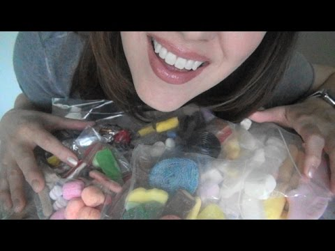 ASMR: Swedish Candies | Scandinavian Sweets |  Sockerbit Candy | Eating Sounds