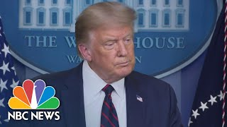 President Donald Trump: Generals Think Beirut Explosion 'Was A Bomb Of Some Kind'   NBC News NOW