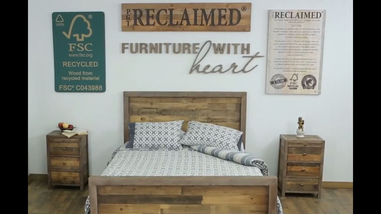 PGT RECLAIMED – QTA American Box Bed - YouTube
