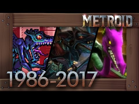 Evolution of Ridley Battles in Metroid Games [1986–2017]