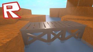 [ROBLOX Speed Build] - Old Wooden Bridge