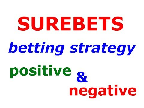 Surebets or Arbitrage Sports Betting Strategy