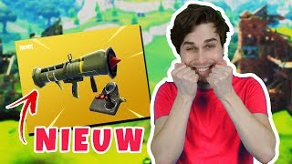 NIEUWE PATCH MET GUIDED MISSILE! - Fortnite Battle Royale (Nederlands)