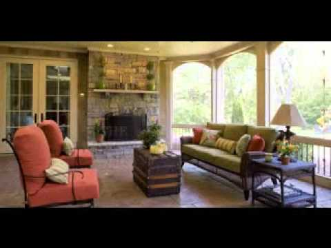 Simple Screen porch decor ideas - YouTube