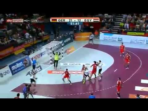 Germany vs Egypt   Men's Handball World Championship 2015   25 01