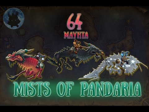 64 mounts of Pandaria