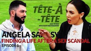 Tete A Tete 1 Անժելա Սարգսյանը` սեքս սկանդալի, Կյանքի խոսքի մասին