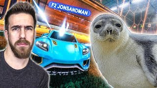 I AM THE SEAL OF ROCKET LEAGUE
