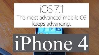 iOS 7.1  Экспресс обзор. Тормозит или нет iOS 7.1 на iPhone 4 ?(, 2014-03-11T08:31:05.000Z)
