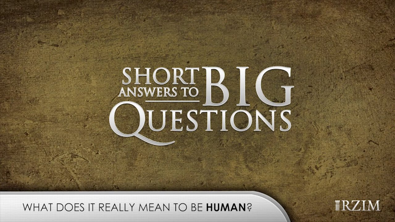 What does it really mean to be human?