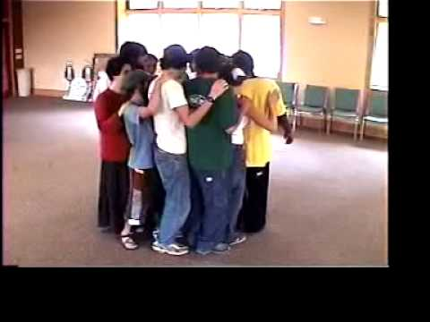 Trust Circle Sit Team Building Exercise Youtube