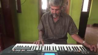 kasthoori manakkunnallo-picnic, on keyboard with karaoke