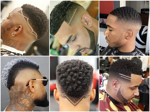 Trendy Haircuts For African American Men's 2019