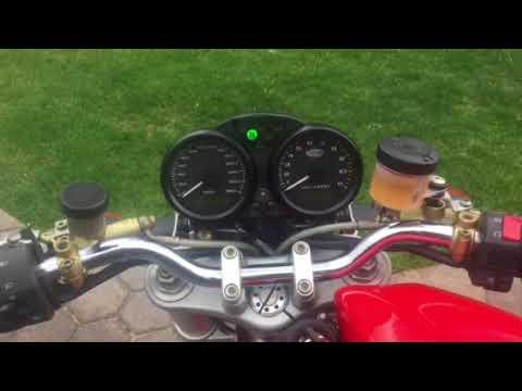Ducati Monster cold start