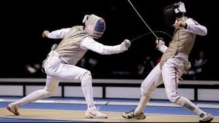 Olympic Fencing Highlights