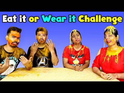 Eat It or Wear It Challenge Part 2 | Extreme Challenge | Part 1 Of 2