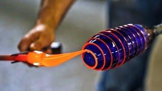 شاهد كيف يتم صنع الزجاج