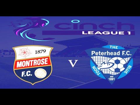 Montrose Peterhead Goals And Highlights