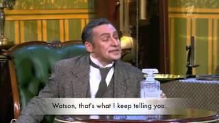 Russian Sherlock Holmes Parody (English subs)