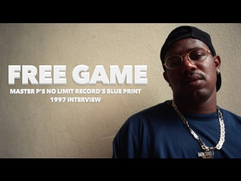 """Free Game : Master P Blueprint For """" No Limit Records """" (1997 Interview)"""