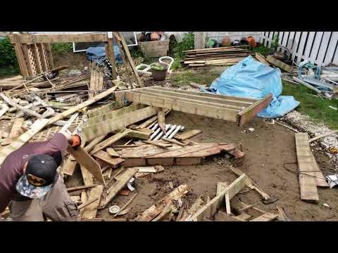 #deck #wood #removal #railwaycitytanks #reno #diy