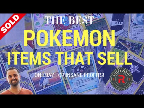 15 Insanely Profitable Pokemon Items That Sell on Ebay