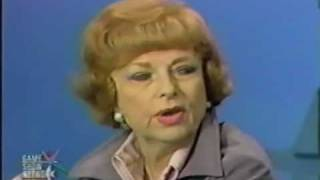 Agnes Moorehead - Mystery Guest