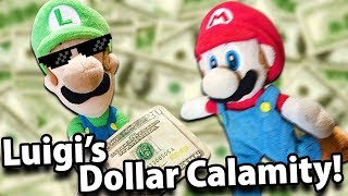 Crazy Mario Bros - Luigi's Dollar Calamity!