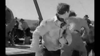 In Old Oklahoma (1943) - Fight scene