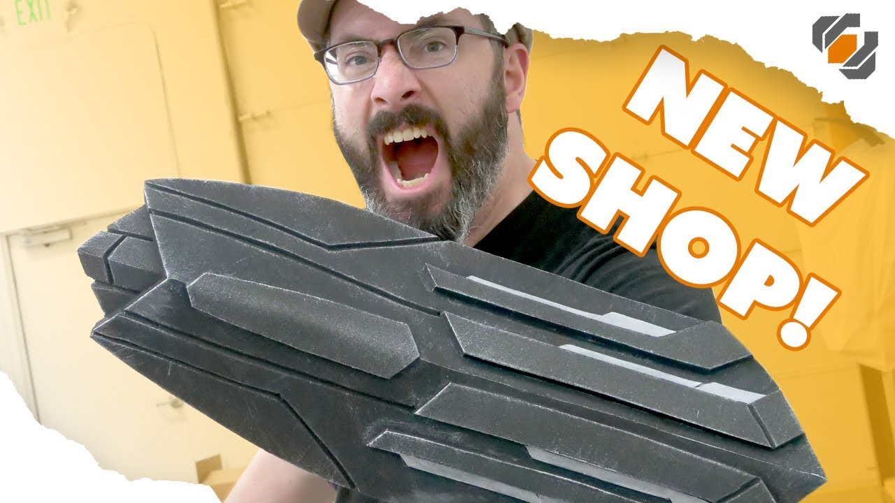 New Shop Prop Challenge! Captain America's Shield from