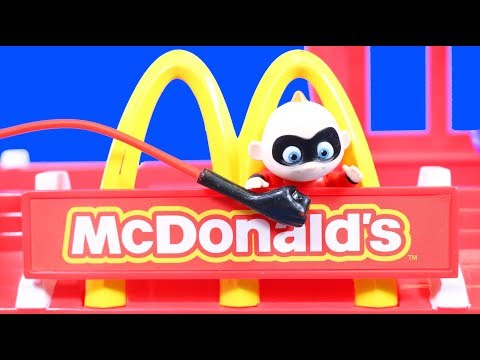 Incredibles 2 Baby Jack Jack Rides In An Ambulance And Goes To Mcdonald's