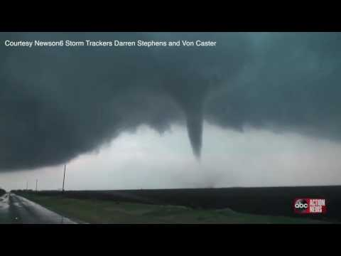 WATCH | Tornado sweeping across Abilene, TX caught on camera