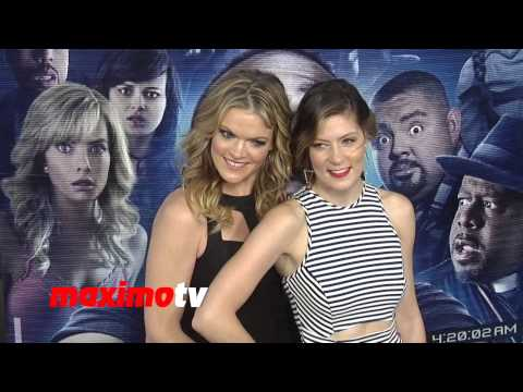 Missi Pyle & Sister Meredith Pyle   Hot Sisters!   A Haunted House 2 World Premiere