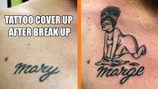 Tattoo Cover Up After Break Up