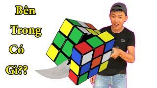 Rubik Tam Giác, Rubik Hình Vuông Có Gì Bên Trong || Anh Công Nguyên