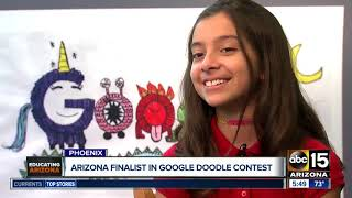 Arizona Finalist In Google Doodle Contest