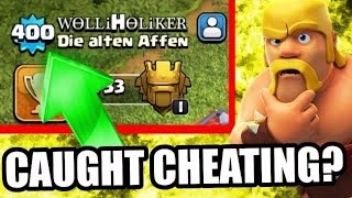 Clash of Clans-Player caught cheating .409XP :Player. Legit or not ????