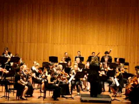 Sibelius Symphony No 1, Final Movement, Canberra Youth Orchestra, 16 December 2012