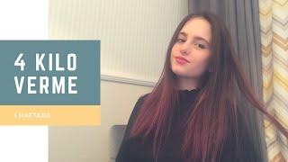 1 HAFTADA NASIL 4 KİLO VERDİM? |Bahar Aleyna