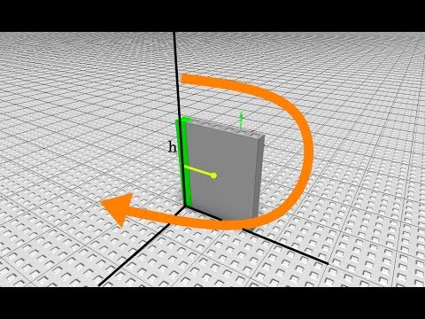 ROBLOX: Rotating an object relative to it's hinge with CFrame (Door animation)