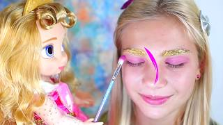 Maggie and princess makeup toys