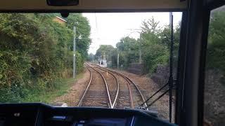Gauntlet track of London Tramlink トラムリンクのガントレット区間
