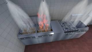 PAFSS KitchenGuard® Fire Suppression System