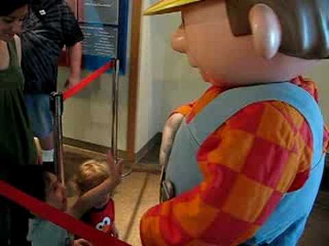 Bob The Builder at Discovery Science Center