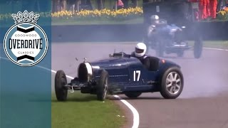 Goodwood 72nd Members' Meeting Thrills and Spills