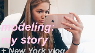 modeling and me: getting scouted, meeting an agency, getting a contract (+ NYC VLOG) thumbnail