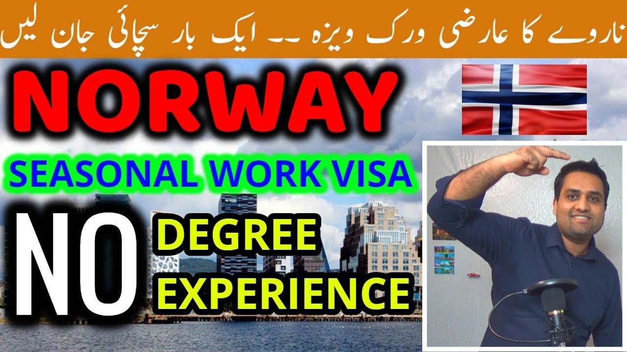NORWAY Seasonal Work Visa Without Agent